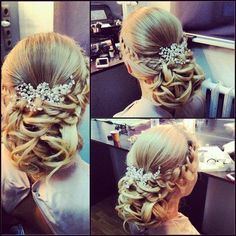 Свадебная прическа и макияж от эль стиль фото