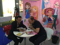 JILIN ANIMATION INSTITUTE at Annecy 2016, Maga animation and ETS booth