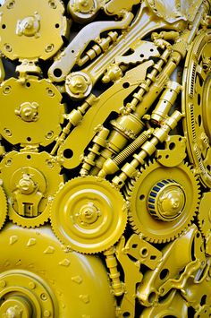 Mechanical Art. mechanics, machines for steampunk inspiration for drawing.