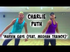 Marvin Gaye (feat. Meghan Trainor) - Charlie Puth - Cardio Dance - Melissa Ray Fitness - YouTube