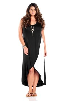 Always For Me Sexy Wrap Plus Size Dress