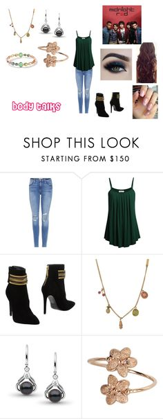 """""""Body Talks by Midnight Red"""" by ocean-goddess ❤ liked on Polyvore featuring Frame, Pierre Balmain, Marc Jacobs and Ippolita"""