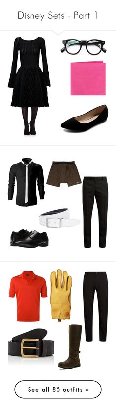 """""""Disney Sets - Part 1"""" by smmashley ❤ liked on Polyvore featuring SPANX, Alaïa, Ollio, Ted Baker, Yves Saint Laurent, Stacy Adams, ExOfficio, NIKE, men's fashion and menswear"""