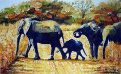 Elephants, Nikola Golubovski____________in stock 350 $