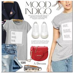 Yoins by mada-malureanu on Polyvore featuring moda, Off-White, Love Moschino, Gap and ANNA