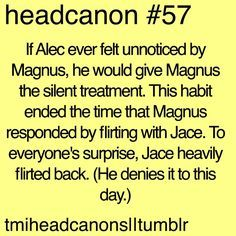 Image result for shadowhunters headcanon