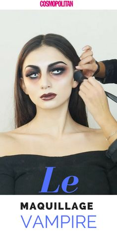 Comment faire un maquillage vampire ? #maquillage #vampire #halloween Maquillage Halloween Vampire, Halloween Face Makeup, Vampires, Halloween 2018, Cosmopolitan, Deco, Inspiration, Spooky Halloween, How To Make Up