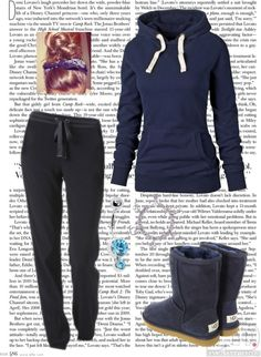 """""""What a day!:** ILY♥"""" by eboony800 ❤ liked on Polyvore"""