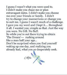 OMG this spoke to my heart so deep! It's as if someone out there in Pinterest land knew this was exactly what I had gone through this year ...