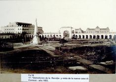 Demolición de la Recova. Hotel Plaza, Old Buildings, Wild West, Louvre, Bs As, History, City, Places, Photography