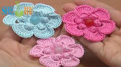 Crochet Popcorn Stitch 6-Petal Flower Tutorial 67 Easy Flower to Crochet  http://sheruknitting.com/videos-about-knitting/crochet-flower-lessons/item/509-crochet-6-petal-flower.ht Looking for some really inspiring crochet flower patterns? Please see our crochet flower collection with a lot of ideas and detailed tutorials. This tutorial shows you easy steps for making a beautiful popcorn stitch flower. The crochet flower pattern is easy and fast to make.
