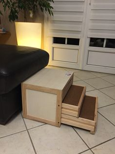 escaliers pour chien sur pinterest escaliers des animaux domestiques marches pour chien et. Black Bedroom Furniture Sets. Home Design Ideas