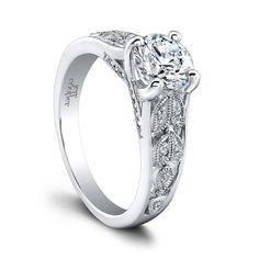 Jeff Cooper RP1635RD Engagement Ring- Genesis Diamonds