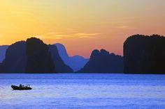 Morning Sun and Limestone Karsts ♦ Koh Yao Yai, Thailand   by...