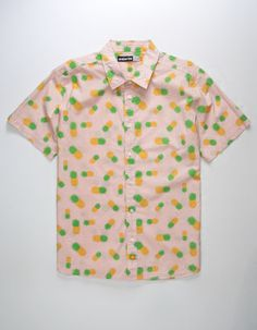 89e9881f36 AMBSN Pineapple Express Mens Shirt Express Mens Shirts