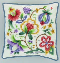 Jacobean Crewel Fabric - Bing Images