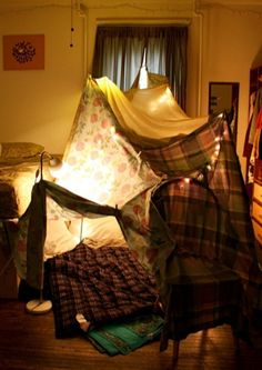 Things to do: build a blanket fort