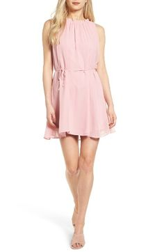 Free shipping and returns on cupcakes and cashmere Zooey Dress at Nordstrom.com. Look pretty in pink in this diaphanous chiffon minidress that's ruffled at the neckline and cinched at the waist with slender ties.