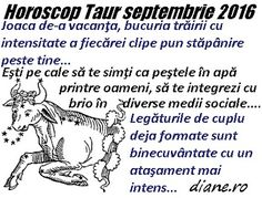 diane.ro: Horoscop Taur septembrie 2016 Taur, Memes, Meme