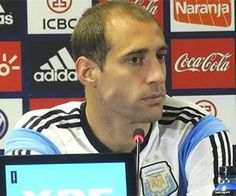Jogador argentino se irrita com pergunta e xinga repórter: 'Seu filho da p…' | Umbuzeiro Online