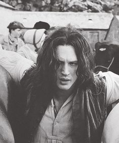Tom Hardy in Wuthering Heights