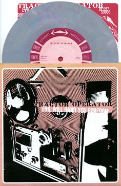 """Tractor Operator Evil Will Hand You Boredom Eric Jensen Lo-Fi Rock 7"""" Grey Vinyl #AlternativeIndiePopRockBritpop Check out all our vinyl at Rock On Collectibles: http://stores.ebay.com/Rock-On-Collectibles/Vinyl-LPs-Singles-/_i.html?rt=nc&_fsub=7421951&_sid=70220124&_trksid=p4634.c0.m14.l1513&_pgn=16"""