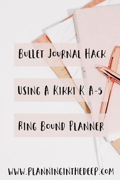 Bullet Journal Hack.
