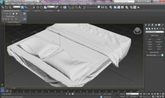 3ds Max Tutorial Realistic Interiors with Marvelous Designer Bedsheet & ...
