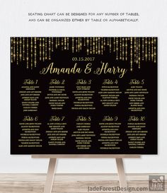 This beautiful Wedding Seating Chart Sign is just what you need to add a special touch to your upcoming wedding. It will be customized just for you!  ..................................................................... PRINTED SIGN or DIY PRINTABLE .....................................................................  Choose PRINTABLE DIY FILE or SHIPPED PRINT from the drop-down menu  ➤ PRINTABLE ➤ You will receive a personalized, high-resolution file at the email address you have…