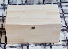Купить Сундук деревянный - бежевый, деревянный сундук, сундук, заготовка сундук, Декупаж