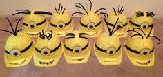 Minion Birthday Party/Play Hat each hat by BabyBsCanopies on Etsy, $8.00