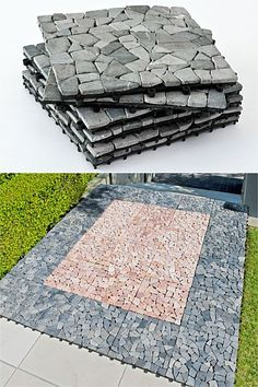 $29.99 EziBuy :: Outdoors - Set of 6 Pebble Tiles - EziBuy New Zealand