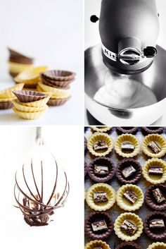 Process Shots for Snickers Tartlet via Bakers Royale