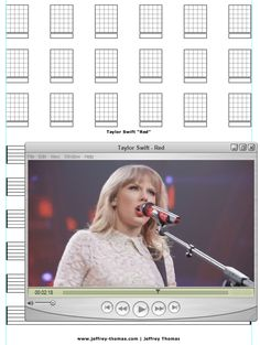 "On The Workbench: ""Red"" by Taylor Swift. I am going to create a simple guitar arrangement for this cool tune by Taylor. Let me know if you would like a free copy of the tab and skype lesson:  www.jeffrey-thomas.com"