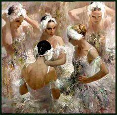 Anna Vinogradova (1975) -Danseuses