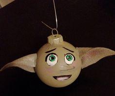 Dobby Glass Ornament. $10.00, via Etsy.