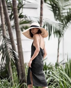 From @BeigeRenegade Instagram #Singapore how lucky you are to have a perpetual summer. Wearing @sarahjcurtis.collections hat and @matinstudio dress.  Photo by my talented mother.