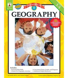 #CDWishList Hands-On Geography Resource Book - Carson Dellosa Publishing Education Supplies
