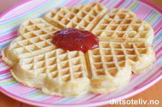 Vafler fra Sjømannskirken i Los Angeles Waffles, Breakfast, Food, Waffle, Hoods, Meals