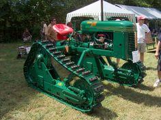 Oliver Hi-Drive HG Antique Tractors, Vintage Tractors, Old Tractors, Vintage Farm, Vintage Trucks, Old Trucks, Classic Tractor, Crawler Tractor, Dream Garage