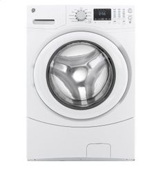 GFWN1600JWW in White by GE Appliances in Westwood, NJ - GE® ENERGY STAR® 4.3 DOE Cu. Ft. Capacity Frontload Washer