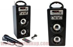 Prenosný multifunkčný Bluetooth Party Box BT328 Party In A Box, Nintendo Wii Controller, Karaoke, Apple Tv, Console, Remote, Bluetooth, Shopping, Roman Consul