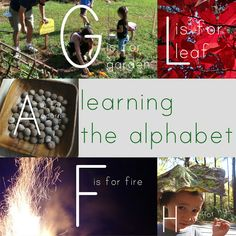 the alphabet- free printables and daily activities