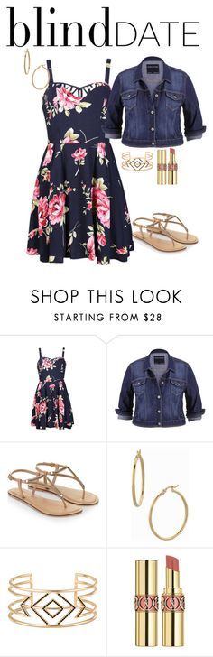 """""""What to Wear: Blind Date"""" by rebelmix ❤ liked on Polyvore featuring мода, Ally Fashion, maurices, Accessorize, Bony Levy, Stella & Dot, Yves Saint Laurent, women's clothing, women и female"""
