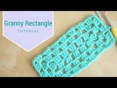 CROCHET: Granny rectangle | Bella Coco