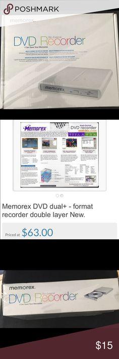 DVD recorder Memorex DVD recorder. Still sealed Other