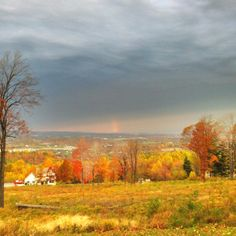 View from Breakiron Road, Morgantown, WV