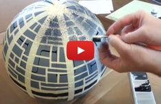 Hängeleuchte im Star-Wars-Look: So bauen Sie sich ihren eigenen Todesstern