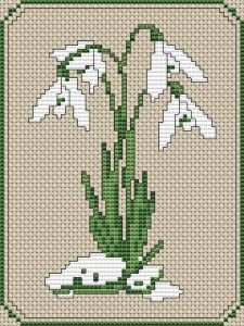 Cross-Stitch Pattern Snowdrops Cross-Stitch Pattern March by Sarah White. Leave a CommentSnowdrops Cross-Stitch Pattern March by Sarah White. Leave a Comment 123 Cross Stitch, Cross Stitch Needles, Cross Stitch Samplers, Cross Stitch Flowers, Counted Cross Stitch Patterns, Cross Stitch Designs, Cross Stitching, Cross Stitch Embroidery, Embroidery Patterns