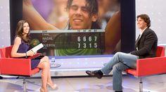 Rafa Nadal, entrevistado en Los Desayunos de TVE.